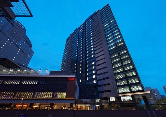 カワサキデルタ外観(JR川崎タワー オフィス棟・商業棟)
