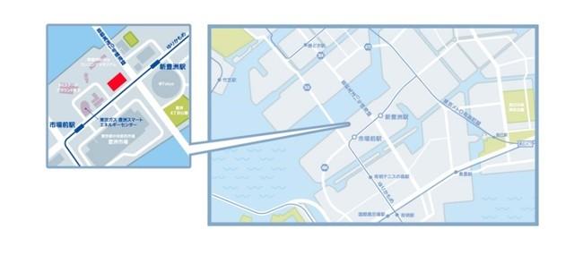 アクセス  :ゆりかもめ「新豊洲」駅北口より徒歩2分 ※北口にエレベーター有