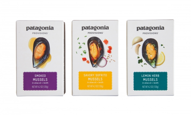 パタゴニア プロビジョンズの新製品「ムール貝オリーブオイル漬」
