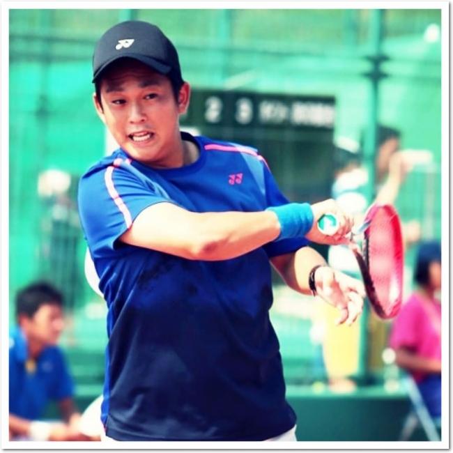 YONEXの新星 榊原 耕平選手が名谷テニスガーデンに登場!
