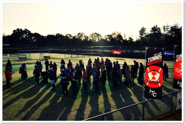 伝統あるスクール生限定テニストーナメント。ITCカップ 第34代グランドチャンピオン大会