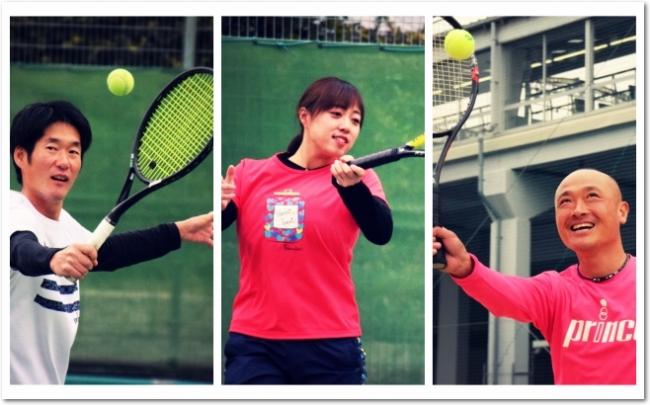 「Enjoy & Improve! 楽しみながら上達を!」がモットーのITCテニススクール。