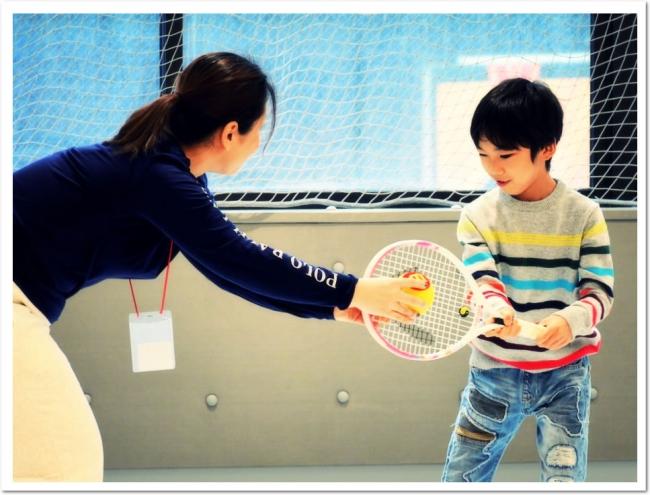 キッズ向けプログラム。遊びからスポーツに親しむ感性を育みます。