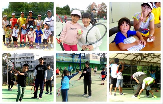 テニスは笑いの絶えないとても楽しいスポーツ。親子や家族でコミュニケーションを取る絶好の機会です。