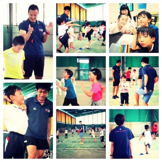 2018年の開催はいずれも大好評。待望の夏休みキャラバン ITCテニススクールで開始!