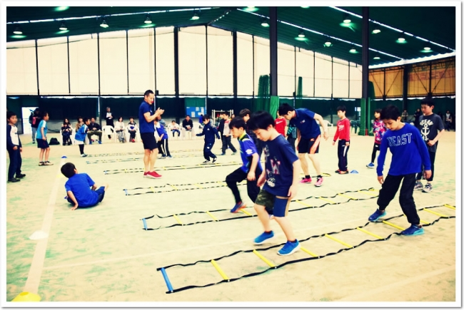 T&F.net KOBE 野口研治トレーナーとITCテニススクールのコラボ企画 夏休み「走り方教室」開催決定!