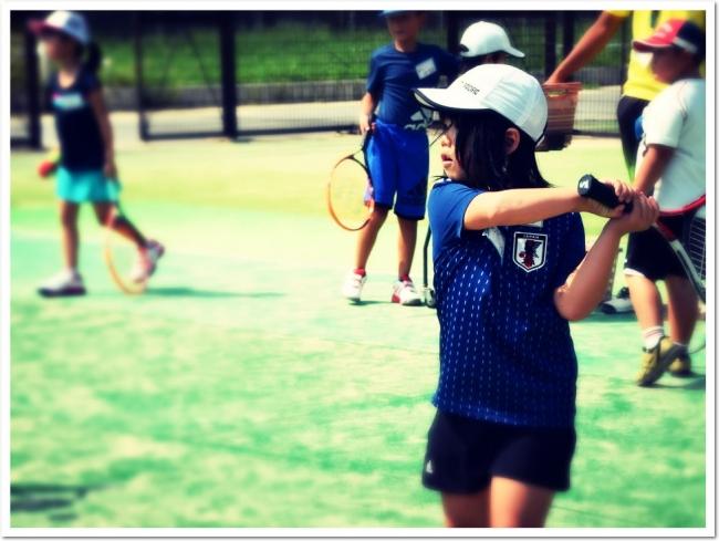 待ちにまった夏休み!今年も開講『夏休み こども短期テニス教室』