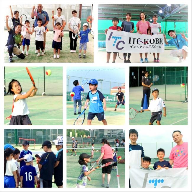ITCの『なかよし親子テニス無料体験会』スポーツに自信がなくてもマイペースで大丈夫!