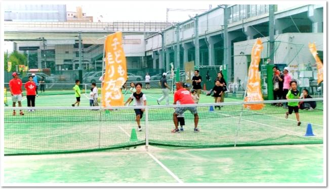 べんてんひろば・ITCテニススクール&ボルダリングでのテニスの日記念イベント初開催!