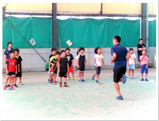 T&F.net KOBE 野口研治トレーナーとITCテニススクールのコラボ企画 「走り方教室」