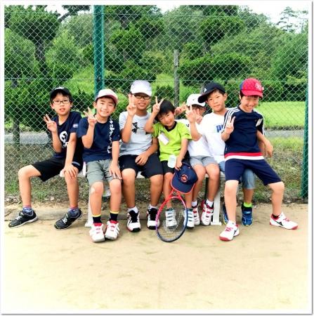 夏のビッグイベント。ジュニアテニスキャンプ。