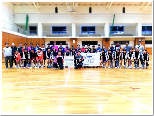 ソフトテニス現役レジェンド 足利剛平選手が上郡町スポーツセンターに登場!