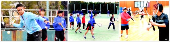 ITC 真砂コーチの炎のソフトテニス コラボイベント。過去にも数々の大型企画を実現。