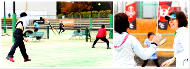 真剣勝負の中でスポーツをこころから楽しむ