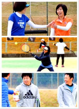 今大人に人気のテニス。