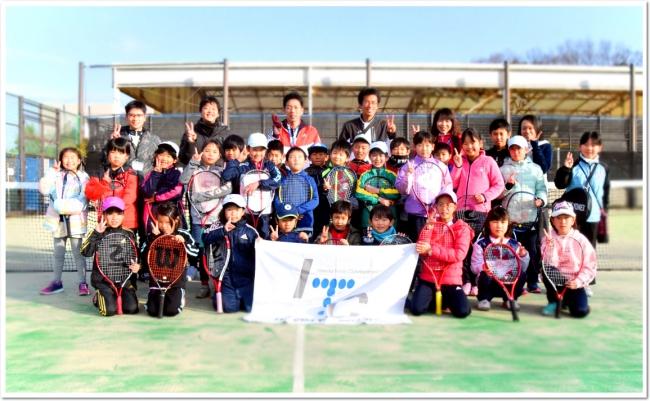 ITCジュニアクラブの新しい一年のはじまり 冬休み合同ジュニアテニス大会が開催!