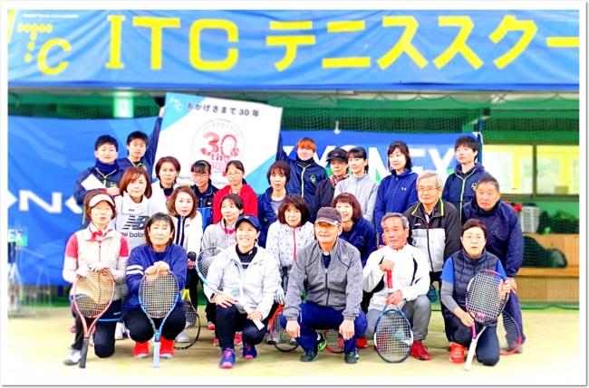 「心と身体を充実」をモットーにしたテニススクール・コミュニティ運営の実績
