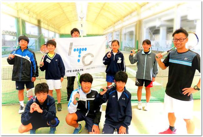 ITC与野インドアテニスクラブ(埼玉県さいたま市)でのイベントも盛況