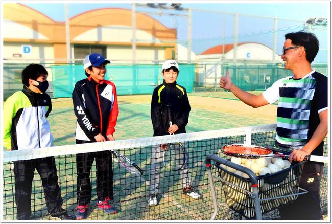 病気やケガに負けない、強い体をつくろう。ITCソフトテニススクール