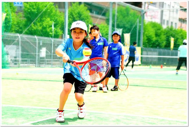 今年も開講『春休み こども短期テニス教室』