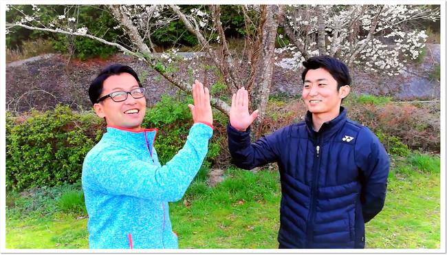 イベントを進行したITC真砂コーチと、村田プロ。