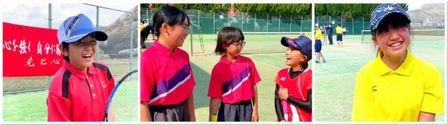 上郡から全国へはばたけ!未来のプロソフトテニス選手たち!
