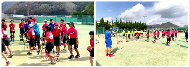 ジュニア年代からソフトテニスが盛んな地域として知られる上郡町。