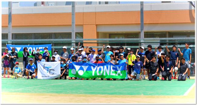 YONEX × ITC のコラボレーション・ソフトテニス企画は今回も大成功!