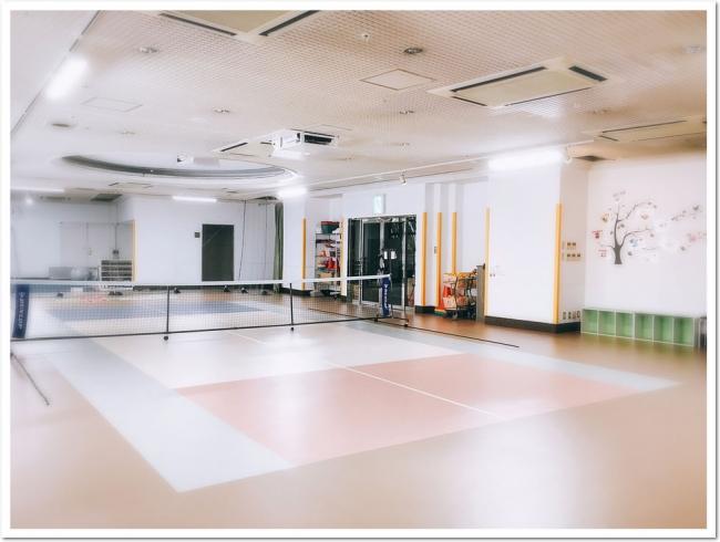 ニュースタイルのライトスポーツ「ES(イージー)テニス」を、  大阪 ITC靱テニスセンター 地下にオープン