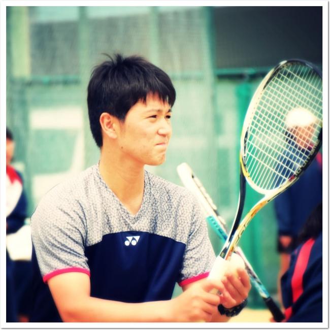 YONEX 現役日本リーグプレイヤー 鹿島 鉄平 選手がITC木津川台テニスクラブにやってきた!