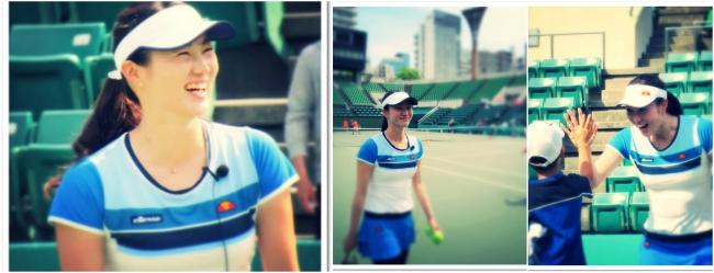 全日本テニス選手権ダブルス元女王 久見香奈恵プロもやってくる!
