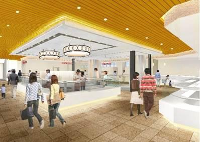 グランデュオ蒲田東館1階リニューアルイメージ