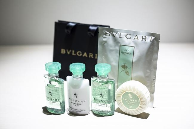 BVLGARI≪ブルガリ≫アメニティ 大阪ミナミエリアで初導入のブランド