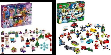 『レゴ シティ アドベント・カレンダー& レゴ フレンズ アドベント・カレンダー』