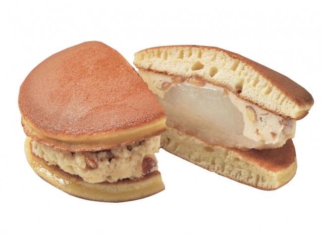[きね箭]キャラメルクリームの餅三笠