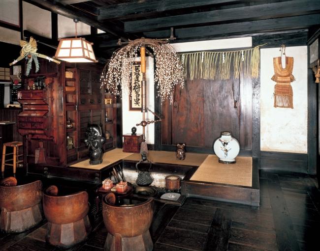 河井寛次郎記念館(囲炉裏場)