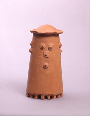 《カラカサのオバケ》1974年 米子市美術館蔵