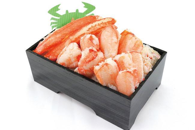 〈札幌蟹工船〉かにもり盛り弁当