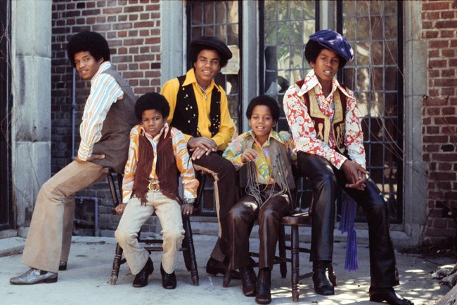 ジャクソン5 1972 Paul Slaughter,Retna,Aflo