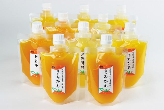 〈オレンジフーズ〉ちゅうちゅうゼリー