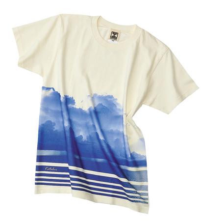 〈琉球ぴらす〉Tシャツ(かたぶい=Squall)