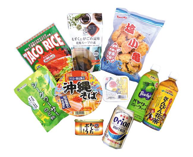 300種類以上の沖縄土産が揃う〈わしたショップ〉