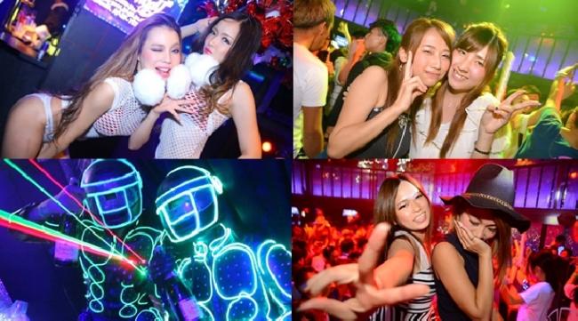 CLUB Ammona (アンモナ) !大阪の東心斎橋のど真ん中を盛り上げ 上質なクラバー達が集う大人の遊び場