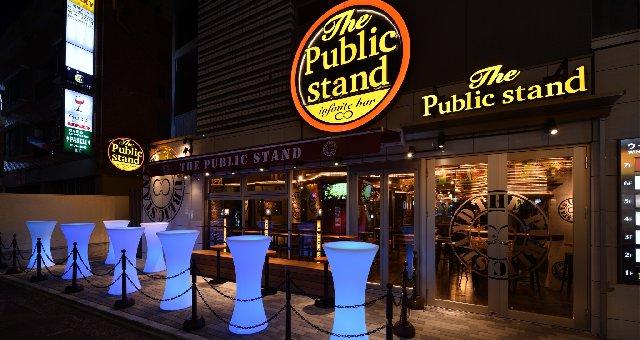 横浜人気のDJバー、クラブ、BAR、ナイトスポット パブリックスタンド横浜店