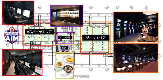 「DiCE 池袋店」6F の改装後イメージ図