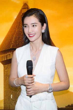 中国の人気女優リー・ビンビン