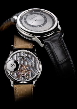 Prestige HM(18K白金表壳)Roman Gauthier的首次亮相作品,因其细节之美而备受瞩目。 车身价格:760万日元+税