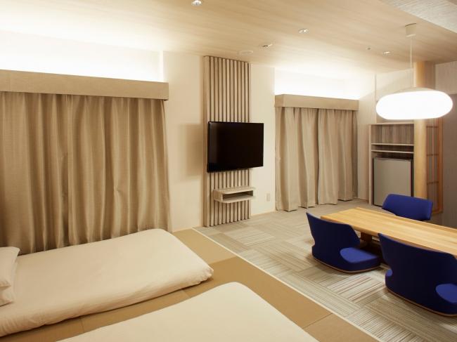小上がりの寝室スペース