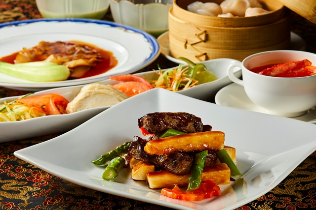 中国料理「桃李」ディナーオーダーバイキング8,750円コース
