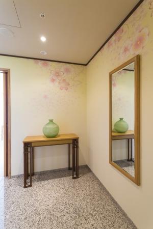Suite Room 四季「MIYABI」 エントランス ~春~ 桜